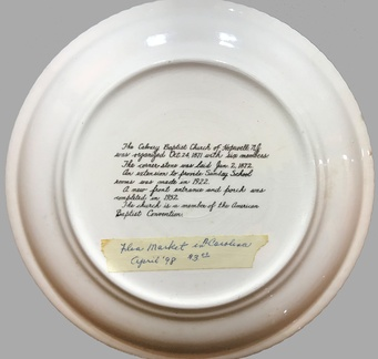 Hw-Calvary-Baptist-Church-Plate-100th-1971-BAT-2