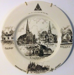 PennBoro-Churches-Plate-NJ-300th-1964-1-RW