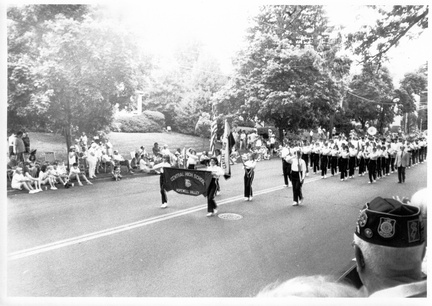 1992-HwBoro-Memorial-Parade-Sudlow-01-CHS-Band