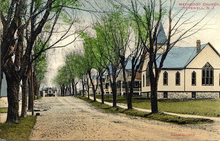 Blackwell-020-1911-pc-ss Railroad south Methodist Church-hcolor-WF 144