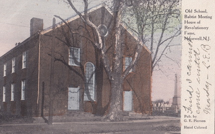 Broad West-046-1909-pc-Old School Baptist Meeting rev tree-Pierson AngloAm hcolor-SC2 029