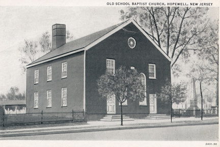 Broad West-046-19xx-pc-Old School Baptist Church sm trees-Cutter AmArt-SC2 044