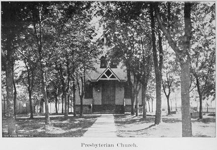Broad West-079-1909-ph-Presbyterian Church front-Hw1909-RM
