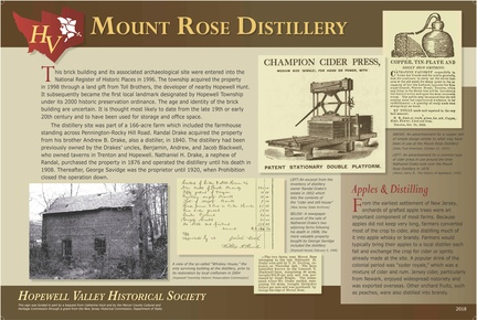 Pennington Rocky Hill-192-2018-ph-MtRose Distillery-Sign-HVHS
