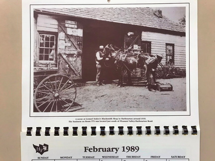 Pleasant Valley Harbourton-xxx-1910-ph-Soden Blacksmith-HVHS Cal1989 02
