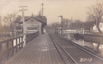 Zz Wash Cross-xxx-1908-pc-RR Station Canal Bridge-Scully rp-SC 164