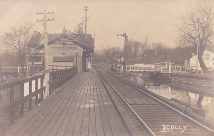 Zz Wash Cross-xxx-19xx-pc-RR Station Canal Bridge-Scully rp-SC 149